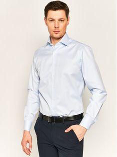 Stenströms Koszula 602771 1610 Niebieski Slim Fit