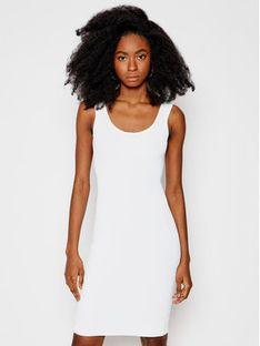 Guess Sukienka dzianinowa W1GK85 Z2U00 Biały Slim Fit