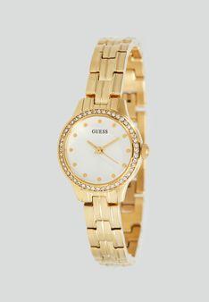 Guess - Zegarek - złoty