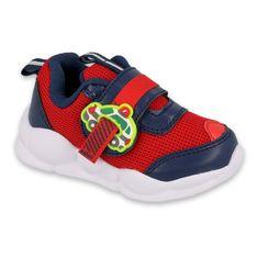 Befado obuwie dziecięce  516P095 czerwone granatowe
