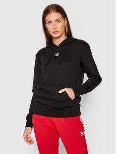 adidas Bluza adicolor Essentials H06619 Czarny Regular Fit