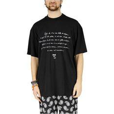 T-shirt męski MSGM z krótkimi rękawami