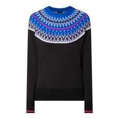Sweter z norweskim wzorem model 'Salita'