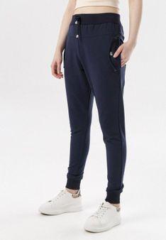 Granatowe Spodnie Marilori