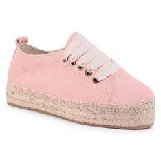 Espadryle MANEBI - Sneakers D W 1.4 E0 Pastel Rose