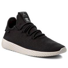 Buty adidas - Pw Tennis Hu AQ1056  Cblack/Cblack/Cwhite