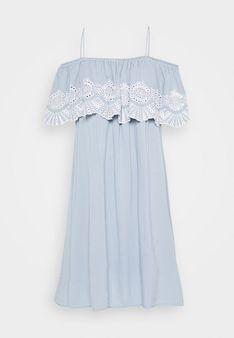 Vila - Sukienka letnia - niebieski