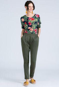 Dzianinowe spodnie damskie