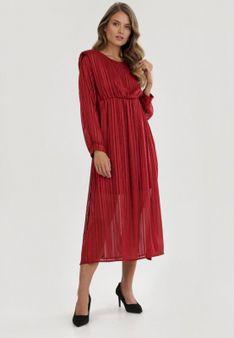 Czerwona Sukienka Dimpleglade