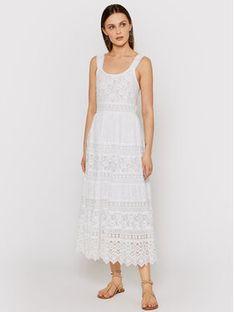 Iconique Sukienka letnia Lila IC21 006 Biały Regular Fit