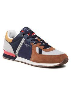 Pepe Jeans Sneakersy Tinker Zero 21 PMS30725 Brązowy