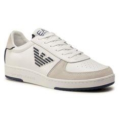 Sneakersy EA7 EMPORIO ARMANI - X8X073 XK176 N091 White/Navy