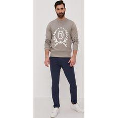 Buty zimowe męskie Gino Rossi brązowe