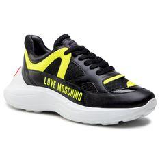 Sneakersy LOVE MOSCHINO - JA15306G1CIV200A Nero