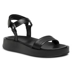 Sandały GINO ROSSI - 37001 Black