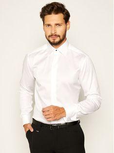 Eton Koszula 300070518 Biały Slim Fit