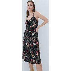 Sukienka Mohito w kwiaty w serek