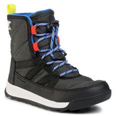 Śniegowce SOREL - Youth Whitney II Short Lace NY3903 Coal 048