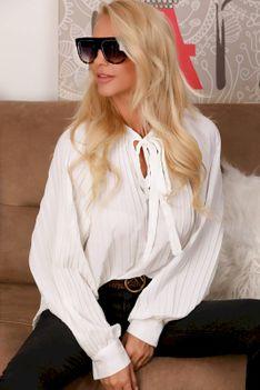 Koszula damska ZARDILA WHITE