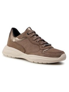 Geox Sneakersy D Smeraldo A D04GCA 022BN C5M9H Beżowy