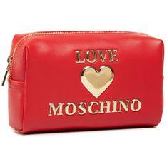 Kosmetyczka LOVE MOSCHINO - JC5301PP0BLE0500  Rosso