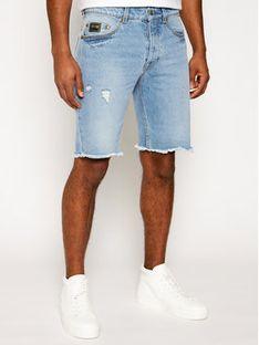 Versace Jeans Couture Szorty jeansowe A4GWA17I Niebieski Regular Fit