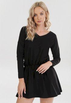 Czarna Sukienka Zellieth