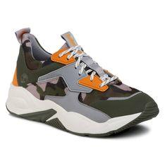 Sneakersy TIMBERLAND - Delphiville Sneaker TB0A213DA581 Dk Green Camo Mesh