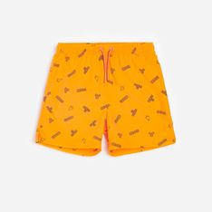 Reserved - Kąpielówki z nadrukiem - Pomarańczowy