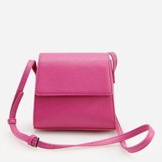 Reserved - Różowa mini torebka - Różowy