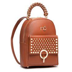 Plecak NOBO - NBAG-J4650-C017 Brązowy