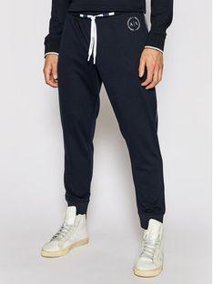 Armani Exchange Spodnie dresowe 8NZP91 Z9N1Z 1510 Granatowy Regular Fit