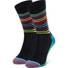 Skarpetki damskie Happy Socks z poliamidu w abstrakcyjne wzory