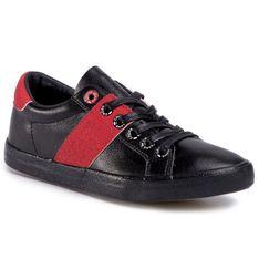 Tenisówki CROSS JEANS - FF2R4050C Black/Red