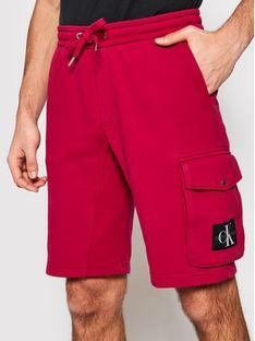 Calvin Klein Jeans Szorty sportowe J30J314676 Różowy Regular Fit