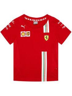 Puma T-Shirt Sf Team 762915 Czerwony Regular Fit