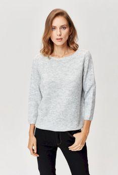 Gładki sweter z kolekcji basic