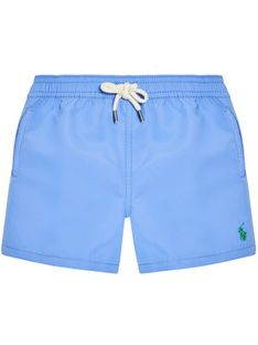 Polo Ralph Lauren Szorty kąpielowe Traveler Sho 322785582013 Niebieski Regular Fit