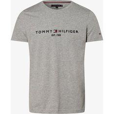 T-shirt męski Tommy Hilfiger z krótkim rękawem na wiosnę