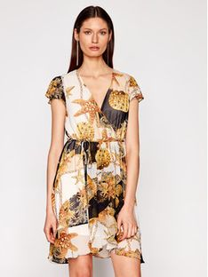 TwinSet Sukienka letnia 211LM27GG Kolorowy Loose Fit