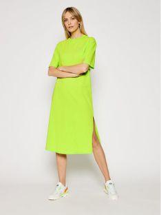 Armani Exchange Sukienka codzienna 3KYA80 YJ9MZ 1853 Zielony Regular Fit