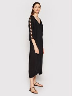 Chantelle Sukienka plażowa Seashell C20H70 Czarny Regular Fit