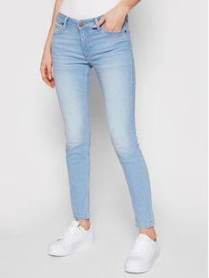Lee Jeansy Scarlett L526PQXL Niebieski Skinny Fit