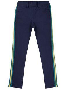 Primigi Spodnie materiałowe BLACK COUTURE More Glitter 44123641 Granatowy Regular Fit