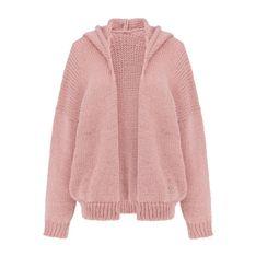 Miękki sweter z kapturem Akane