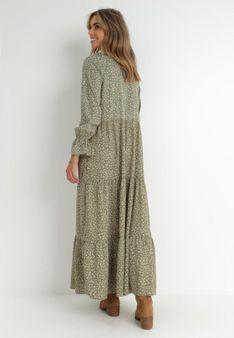 Zielona Sukienka Adrasixie
