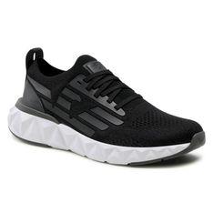 Sneakersy EA7 EMPORIO ARMANI - X8X048 XK113 N398 Full Black/Gunmetal