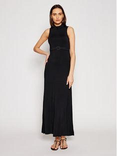 Emporio Armani Sukienka codzienna 262490 1P315 00020 Czarny Regular Fit
