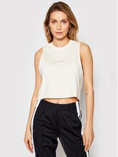 adidas Top Cropped Tank GN2845 Beżowy Regular Fit