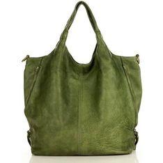 Shopper bag Merg na wakacje na ramię bez dodatków mieszcząca a5